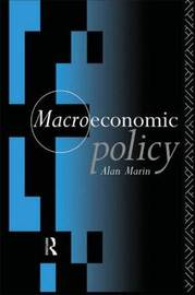 Macroeconomic Policy by Alan Marin image