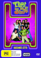 That '70s Show - Season 5 (4 Disc Set) on DVD