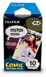 Fujifilm Instax Mini Film 10 Pack - Comic