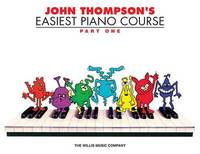 John Thompson's Easiest Piano Course - Part 1 (Book Only) by John Thompson