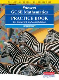 Edexcel GCSE Maths Intermediate Practice Book by Keith Pledger image