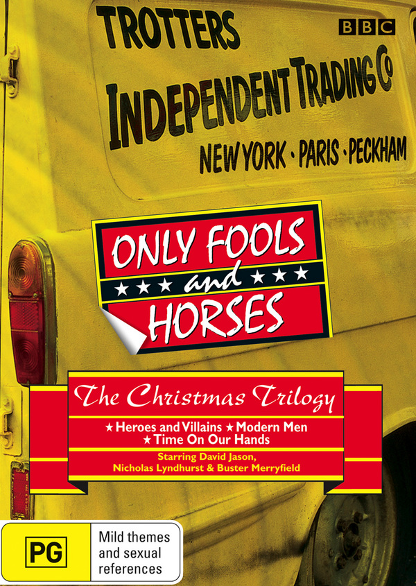 Only Fools and Horses - The Christmas Trilogy (2 Disc Set) on DVD image