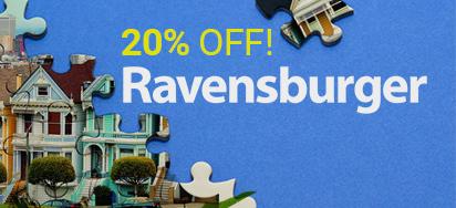 20% off Ravensburger!