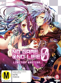 No Game, No Life: Zero (Limited Edition) on Blu-ray