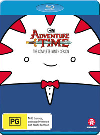 Adventure Time - The Complete Ninth Season on Blu-ray