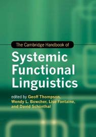 Cambridge Handbooks in Language and Linguistics by David Schoenthal