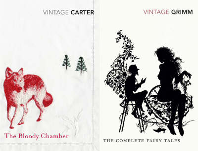 "Vintage Fear: ""The Complete Fairy Tales"", ""The Bloody Chamber"" by Angela Carter image"