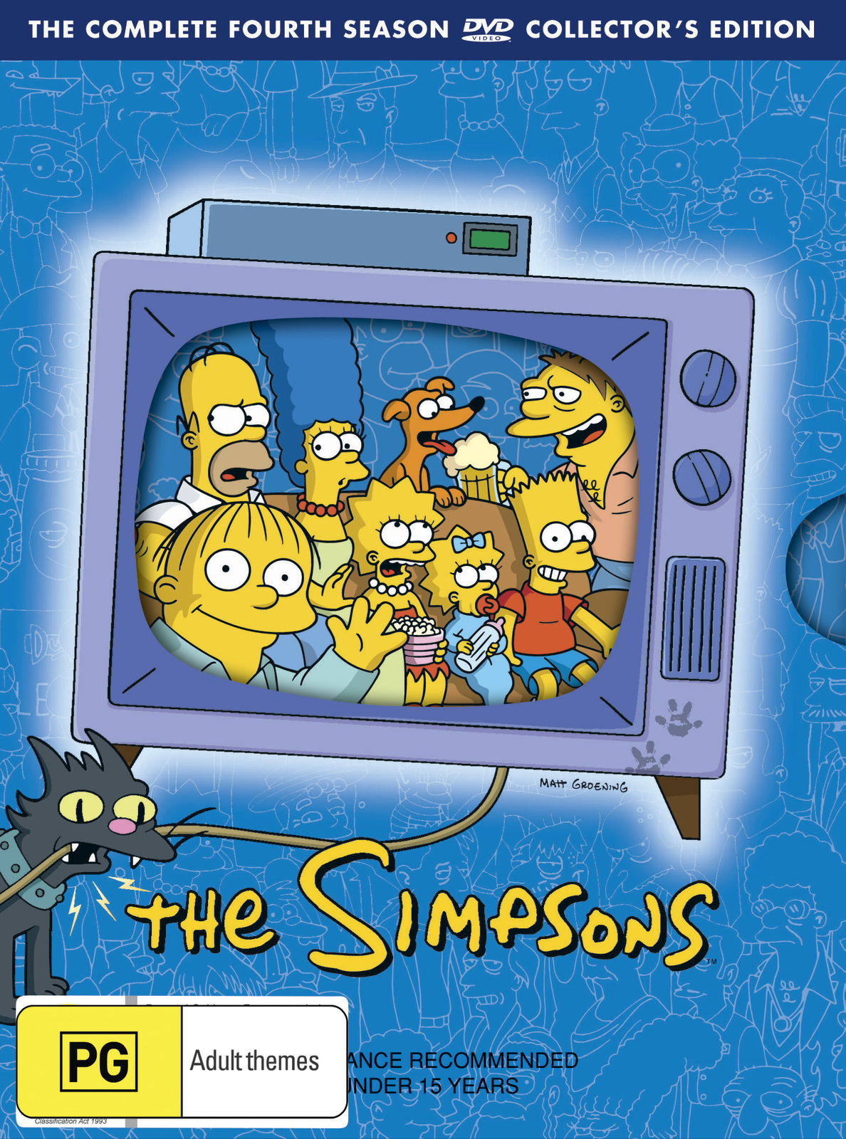 The Simpsons - The Complete Fourth Season on DVD image
