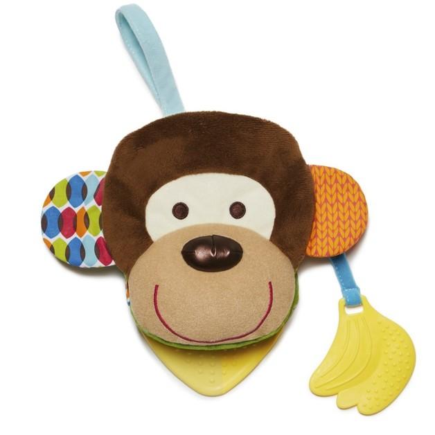 Skip Hop Bandana Buddies Puppet Book - Monkey
