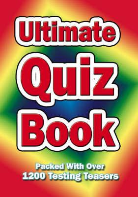 Ultimate quiz book