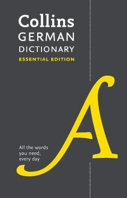 Collins German Dictionary Essential edition by Collins Dictionaries image