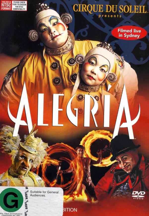 Cirque Du Soleil - Alegria (Sony) on DVD image