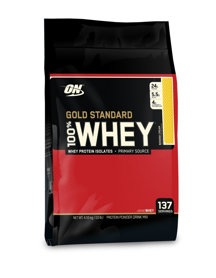 Optimum Nutrition Gold Standard 100% Whey - Banana (4.55kg) image