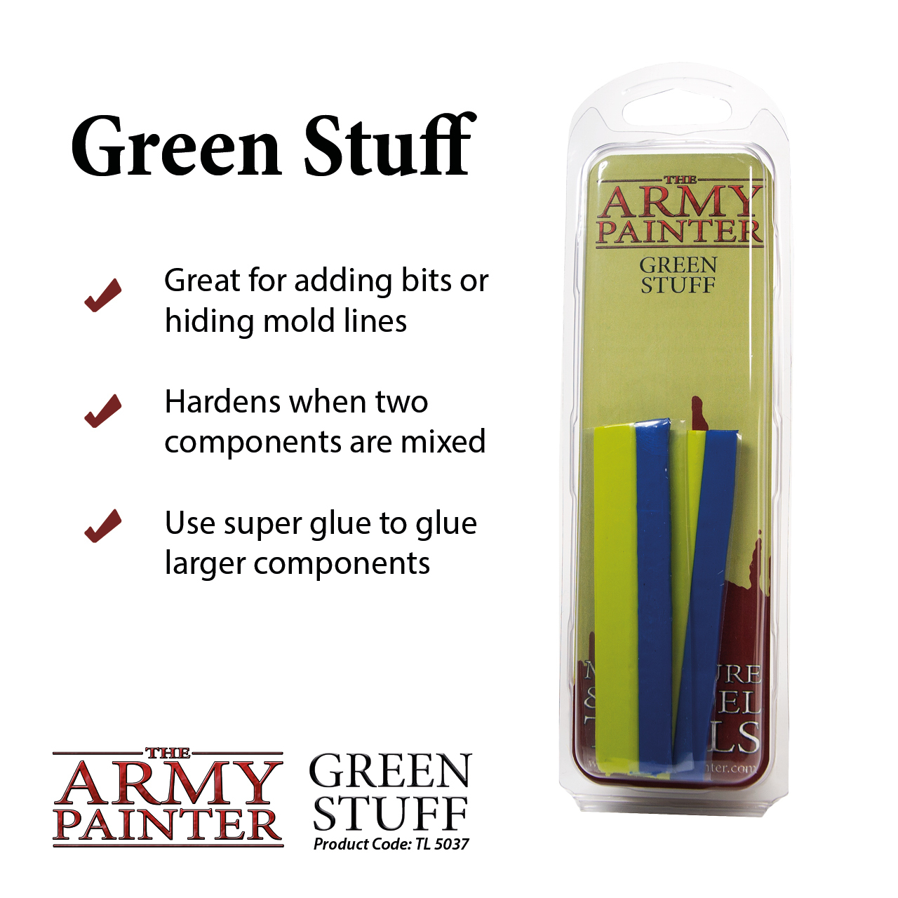 Army Painter: Green Stuff image