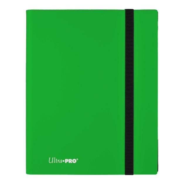 Ultra Pro: 9-Pocket Eclipse Pro Binder - Lime Green