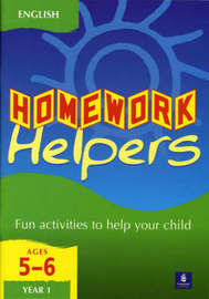 Longman Homework Handbooks: English 1, Key Stage 1 by Tim Franks image