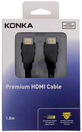 Konka 1.8m High Speed HDMI Cable with ethernet