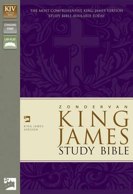 KJV Zondervan Study Bible, Leathersoft, Purple/Green by Zondervan Publishing