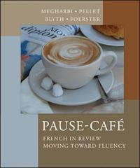 Pause-cafe (Student Edition) by Nora Megharbi image