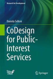CoDesign for Public-Interest Services by Daniela Selloni