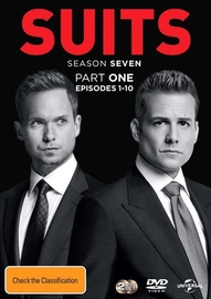 Suits - Season 7 (Part 1) on DVD image