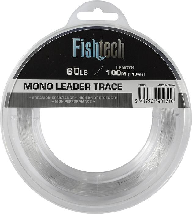 Fishtech Hi Tensile Leader 60lb 100m