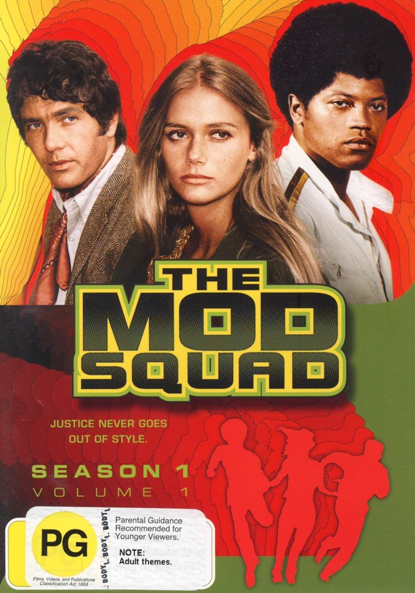 Mod Squad, The (1968) - Season 1: Vol. 1 (4 Disc Set) on DVD image