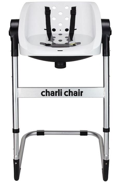 Charli: 2-in-1 Baby Chair - White