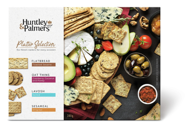 Huntley & Palmers Platter Selection 300g