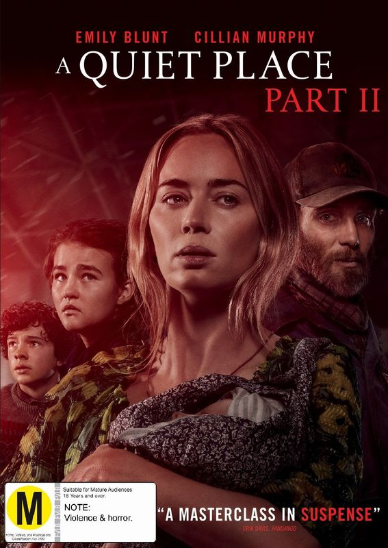 A Quiet Place Part II on DVD