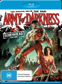Army of Darkness: Screwhead Edition on Blu-ray
