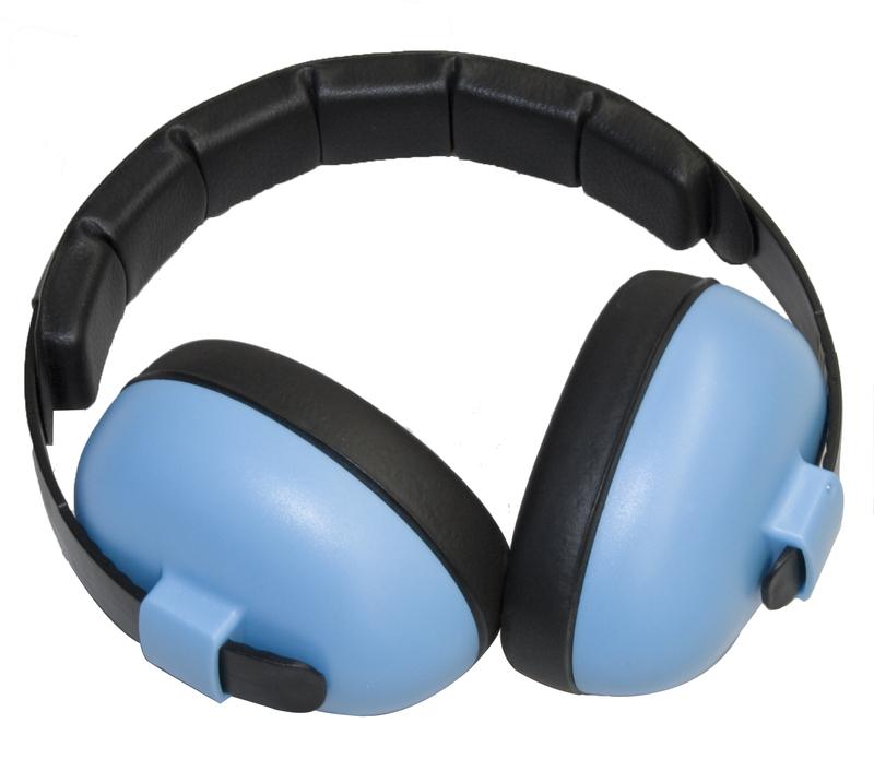 Banz Mini Earmuffs - Blue image