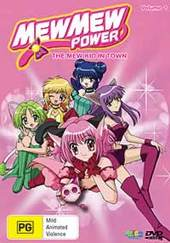 Mew Mew Power - Vol. 1: The Mew Kid In Town on DVD