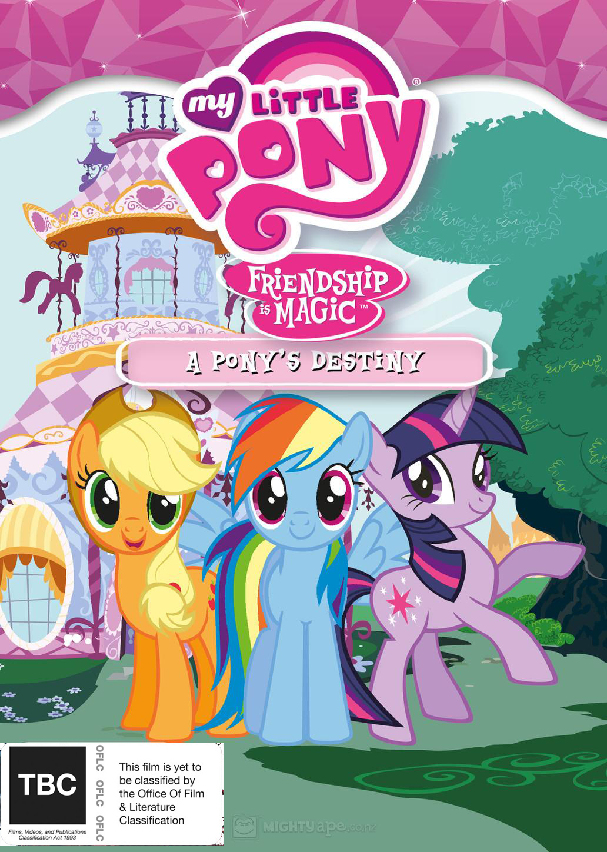 My Little Pony: Friendship is Magic (Season 3, Volume 3) - A Pony's Destiny on DVD image