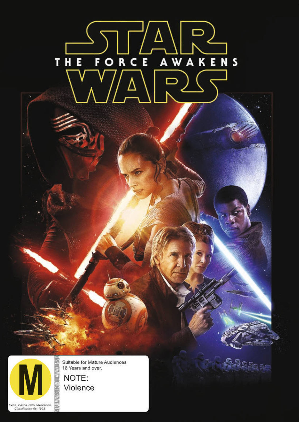 Star Wars: Episode VII - The Force Awakens on DVD image