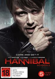 Hannibal - The Complete Third Season on DVD