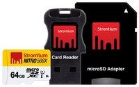 64GB Strontium NITRO Micro SD (3 in 1)