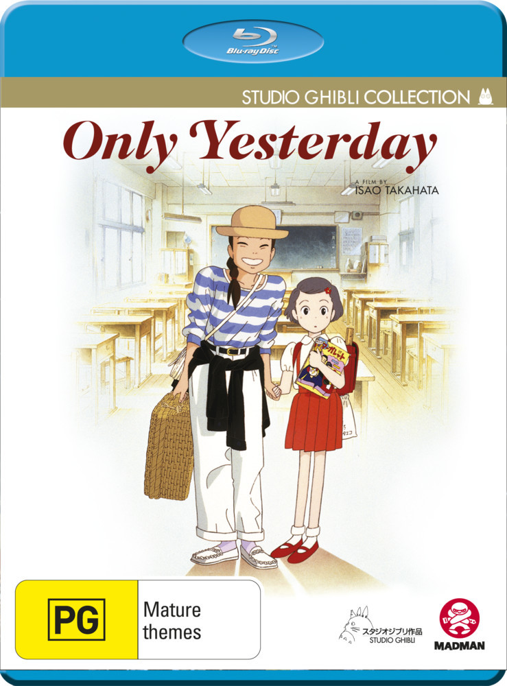 Only Yesterday on Blu-ray image