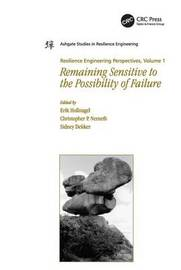 Resilience Engineering Perspectives, Volume 1 by Christopher P Nemeth