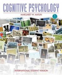 Cognitive Psychology by Margaret Matlin image