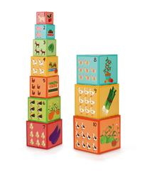 Scratch: Jumbo Stacking Tower - Farm