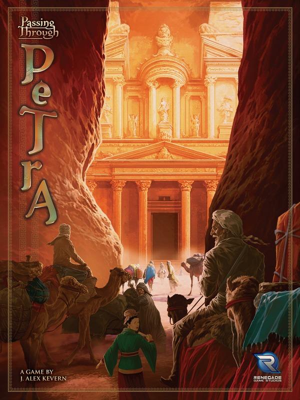 Passing Through Petra - Board Game