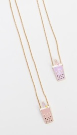 Smoko: Best Boba Baes - BFF Necklace Set