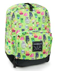"Minecraft 17"" Overworld Sprites Backpack"
