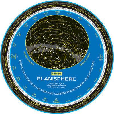 Philip's Planisphere: USA, Southern Europe, Japan image