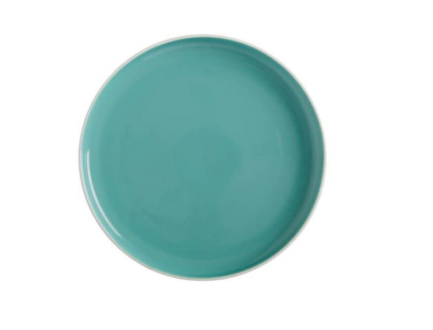 Maxwell & Williams Tint High Rim Plate 20cm Aqua