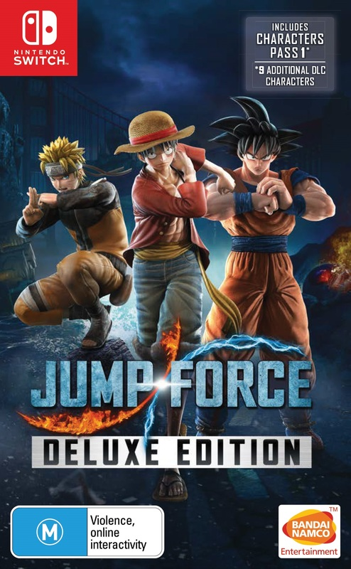Jump Force Deluxe Edition for Switch