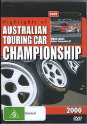 Highlights Of The Australian Touring Car Championship 2000 on DVD
