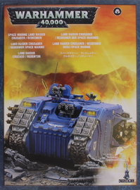 Warhammer 40,000 Space Marine Land Raider Crusader/Redeemer