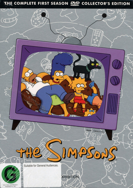 The Simpsons - Season 1 on DVD